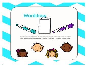 Worddraw Word illustration game