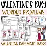 Worded Problems Valentine's Day