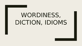 Wordiness, Diction, Idioms- SAT and ACT PowerPoint