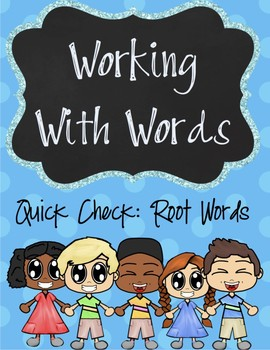 Wording With Word Quick Check and Activity!