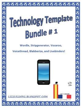 Technology Template Bundle #1!