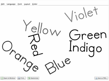 Wordle tutorial.  How to create a wordle