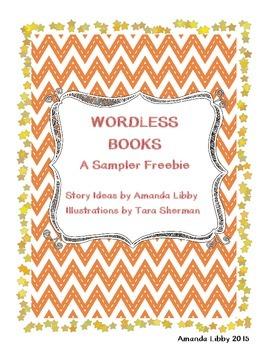 Wordless Book Freebie - A New Friend