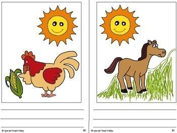 Wordless Book Little Red Hen Free