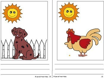 Distance Learning The Little Red Hen Wordless Book