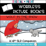 Wordless Picture Book Companion: Wolf in the Snow