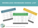 Wordless Picture Book List