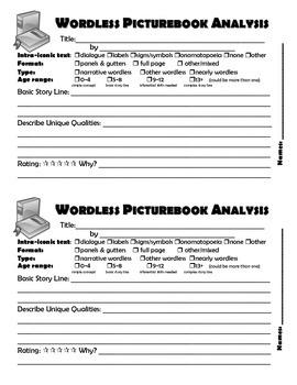 Wordless Picturebook Analysis