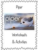 Wordless Short Film - Piper Worksheets