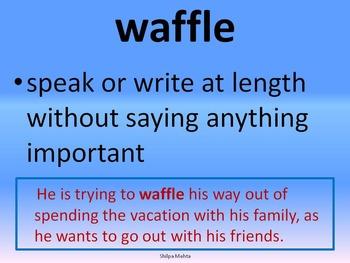 Wordlist W (with sentences)