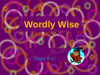 Wordly Wise 2 powerpoint