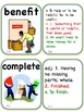 Wordly Wise 3000 Book 4 Vocabulary Cards with Pictures and Definitions