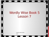 Wordly Wise 3000 Book 5 Lesson 7