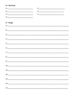Wordly Wise 3000, Book 8 - Lesson 5 Answer Sheet
