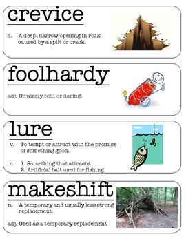 Wordly Wise 3000 Vocabulary Word Wall Lesson 5