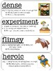 Wordly Wise 3000 Vocabulary Word Wall Lesson 9