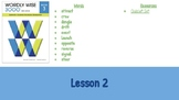 Wordly Wise Book 3 Lesson 2 Slideshow
