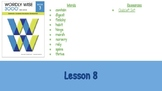 Wordly Wise Book 3 Lesson 8 Slideshow