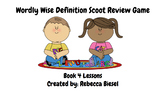 Wordly Wise Book 4 Lesson 11 Definitions Scoot Review Game (White Background)