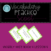 Wordly Wise Book 4 Lesson 4 Scoot Review Game