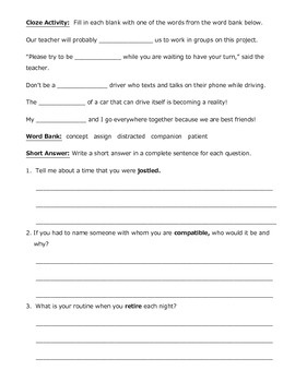 Shared Worksheets by cabutler017