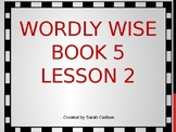 Wordly Wise Book 5 Lesson 2