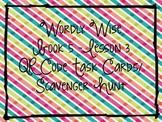 Wordly Wise Book 5, Lesson 3 QR Code Task Cards/Scavenger Hunt