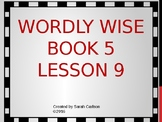 Wordly Wise Book 5 Lesson 9