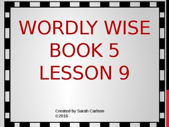 Wordly wise book 5 teaching resources teachers pay teachers fandeluxe Choice Image