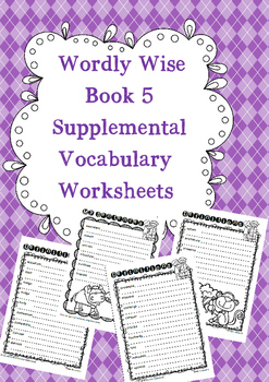 Wordly Wise Book 5 Written Supplements