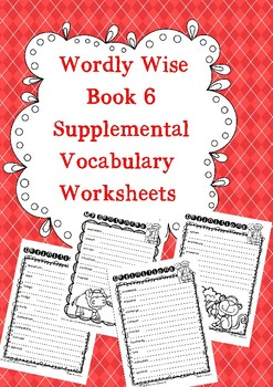 Wordly Wise Book 6 Written Supplements