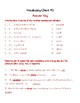 Wordly Wise Lesson 5 Quiz & Answer Key