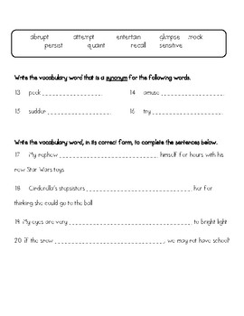 Wordly wise book 7 lesson 3 answer key