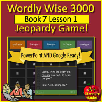 Wordly Wise 3000 Game -  Review Book 7 Lesson 1
