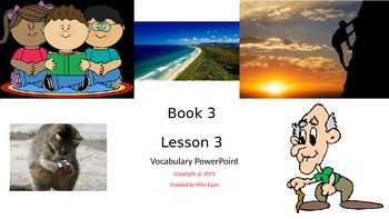 Wordly Wise Lesson 3 Powerpoint