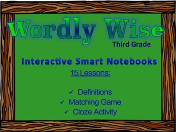 Wordly Wise Third Grade (Book Three) Supplemental Smart Notebooks