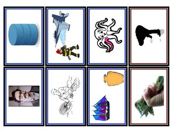 Wordly Wise Vocabulary Picture Reference Cards - Book 3, Lesson 1