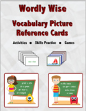 Wordly Wise Vocabulary Picture Reference Cards - Book 3 Lesson 2