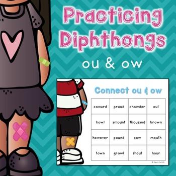 Diphthongs ou/ow Game