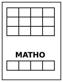Wordo, Spello, Bingo, Matho