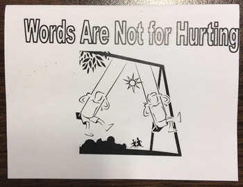 Words Are Not For Hurting Activity