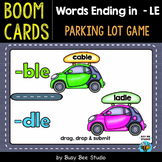 Words Ending in LE Game | Boom Cards