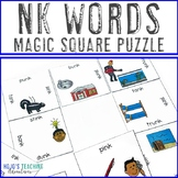 NK Words Literacy Center Game