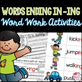Words Ending with -ing