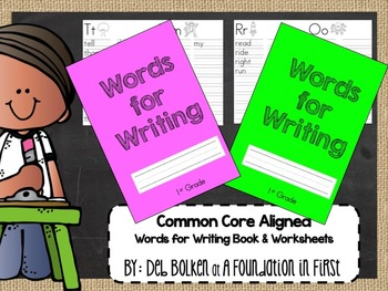 Words For Writing - JOURNAL - Common Core Aligned