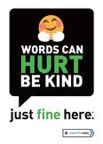 Words Hurt, Be Kind