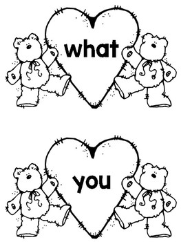 Words I Know By Heart Freebie