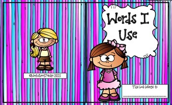 Words I Use Book
