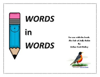 Words In Words - The Tale of Jolly Robin