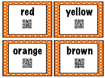 Words O Plenty QR Code Sight Words